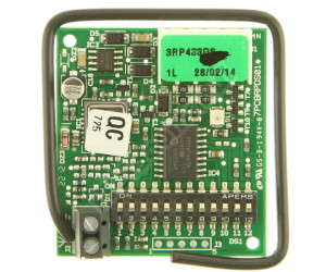 Ricevitore FAAC RP 433 DS
