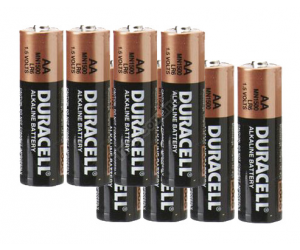Pacco batterie Duracell  AA